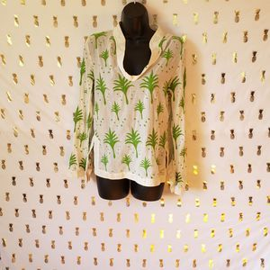 Tory Burch SZ 4 Plunging neck top